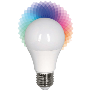 EUROLAMP-LED-SMART-BULB-6W-Ε27-2700K-RGB-240V---(147-84920)